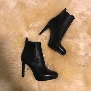 NWOT Nine West Leather Ankle Boots